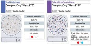 Đĩa Compact Dry Ecoli Coliform và Total Viable Count