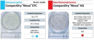 Đĩa Compact Dry Enterococcus và Heterotroph