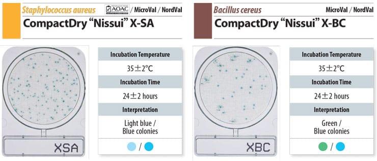 Đĩa Compact Dry Staphylococcus và Bacillus